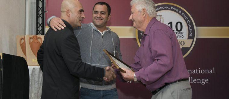 יין אדום משובח של יקב עמרם זוכה מדליית זהב בתחרות טרה וינו 2016